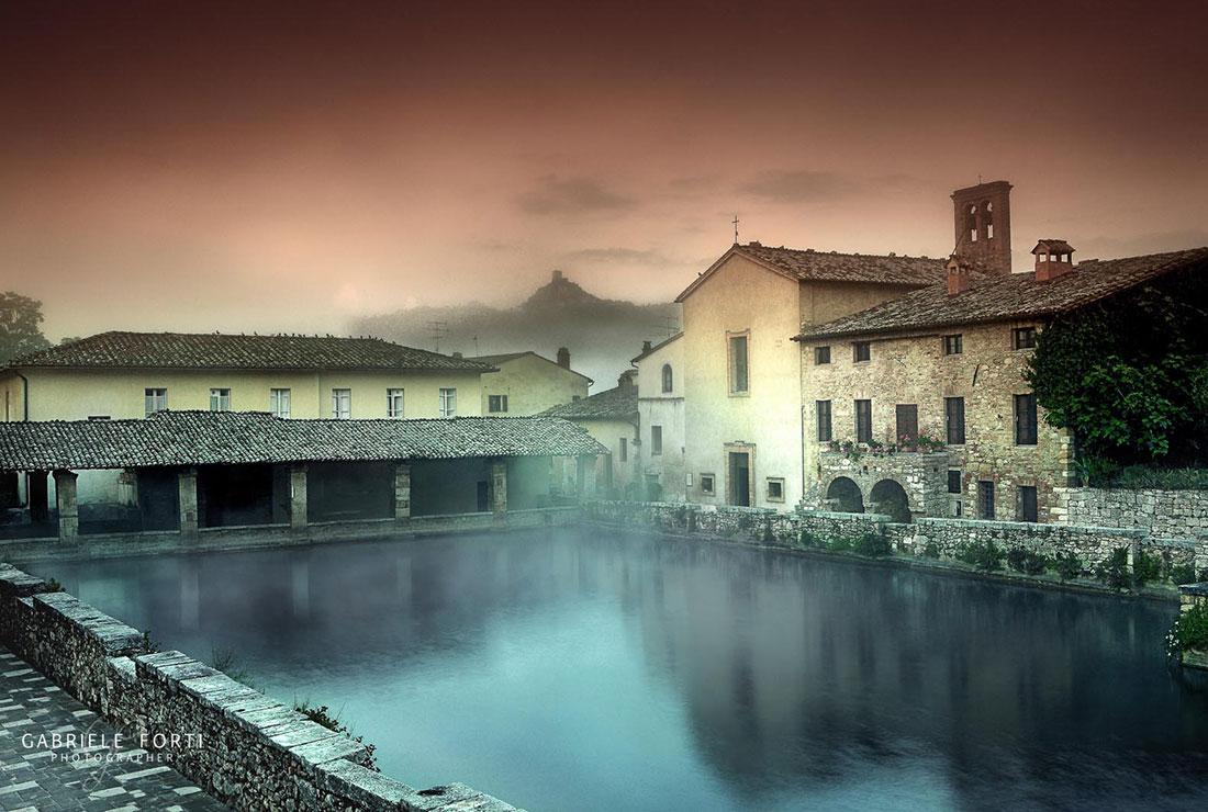 San quirico e bagno vignoni palazzo del capitano