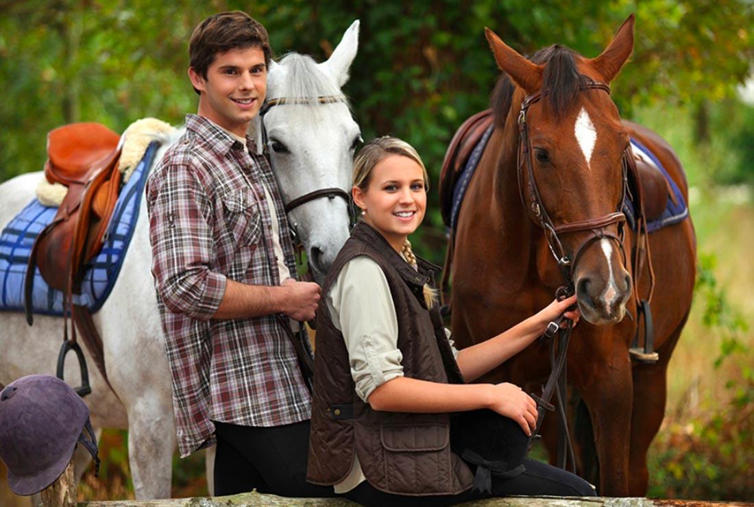 horseback ride in tuscany
