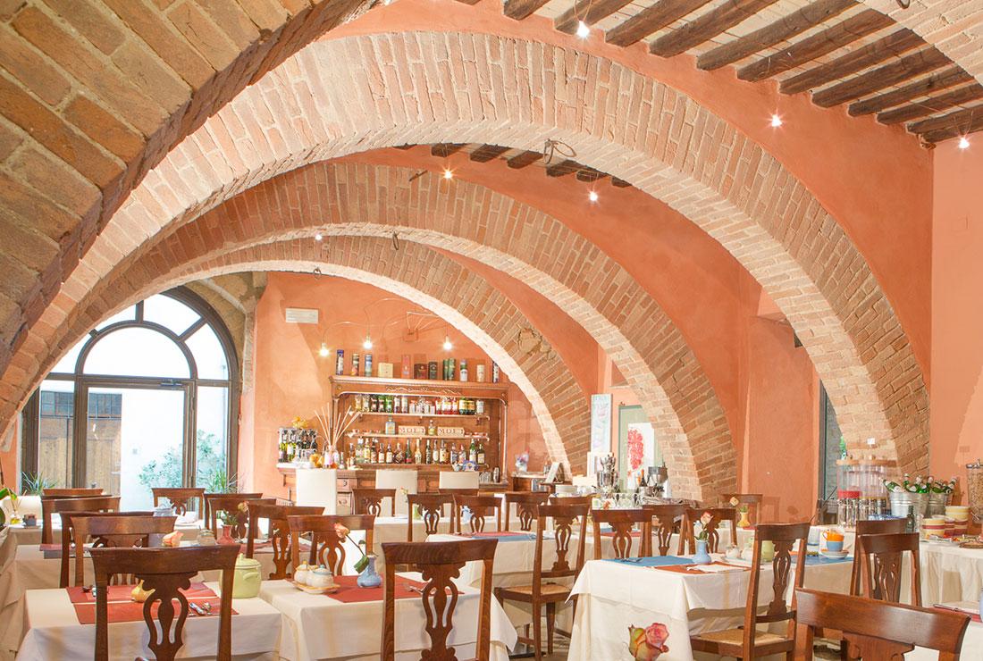 wine restaurant valdorcia